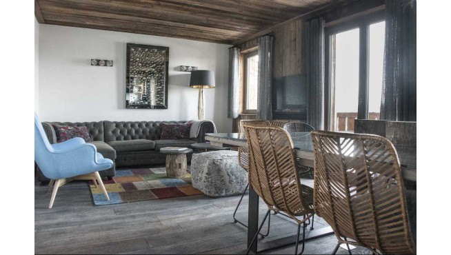 Chalet de luxe à Courchevel