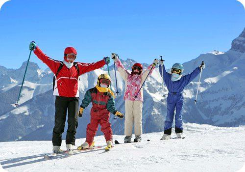 Vacances au ski : se faire plaisir en famille